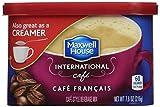 Maxwell House International Cafe Francais Café, 7.6 oz Tub (Pack of 8)