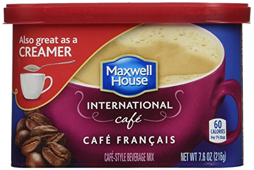 Maxwell House International Cafe Francais Cafe (433320) 7.6 oz (Pack of 8)