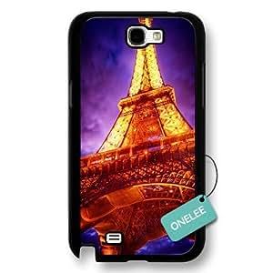 Eiffel Tower Black Iphone 5/5S - Custom Personalized Paris France Hard Plastic Iphone 5/5S - Black01