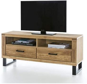 Elfo Klara - Mueble para TV (Madera de Roble barnizada): Amazon.es: Juguetes y juegos
