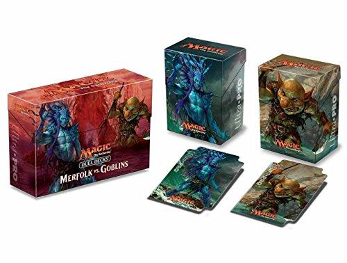 Ultra Pro Merfolk VS Goblins Duel Deck Box for Magic The Gathering MTG