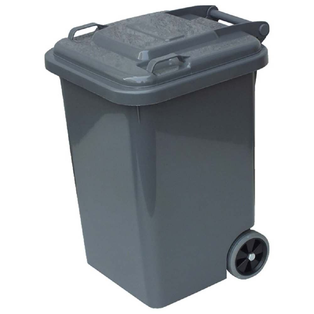アメリカでよく見かけるゴミ箱を家庭用サイズにしました【DULTON 100-198 PLASTIC TRASH CAN 65L ダルトン プラスティック トラッシュカン65L】9色チョイス家庭用にアメリカン雑貨アメリカ雑貨 (グレー) B00I4NTVKU