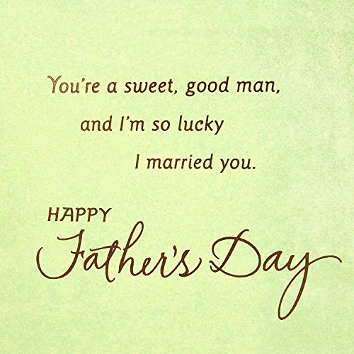 Hallmark Father's Day Greeting Card for Husband (Sweet and Good Man) Photo #3