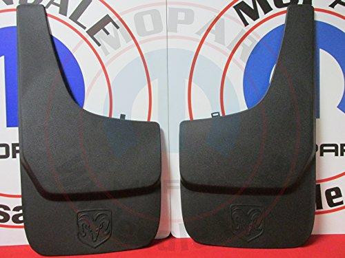 2001 TO 2011 DODGE FLAT MOLDED SPLASH GUARDS FRONT OR REAR MOPAR FACTORY OEM Dakota Molded Splash Guards