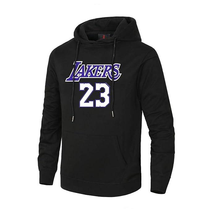 ROO Lakers James Basketball Sportswear 23 Sudadera De Baloncesto Sudadera Deportiva Sudadera De Baloncesto Jordan: Amazon.es: Ropa y accesorios