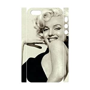 C-EUR Cell phone Protection Cover 3D Case Marilyn Monroe For Iphone 5,5S