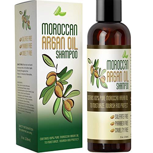 Moroccan Argan Oil Shampoo for Men and Women