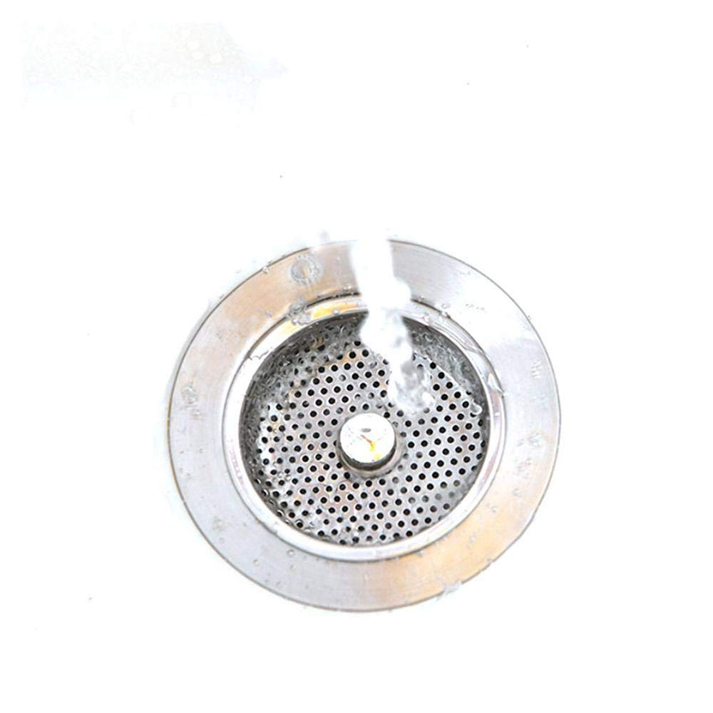 Stainless Hair Catcher Bath Drain Strainer Cover Sink Trap Basin Stopper Filter