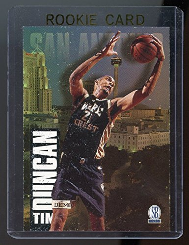 1997 Score Board Draft Day #1A Tim Duncan Rookie Card - Near Mint Condition Ships in a Brand New Holder