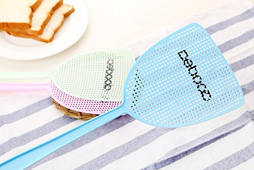 NETCAT Fly Swatter Manual Swat Pest Control sweet-color (3 Pack) by NETCAT (Image #1)
