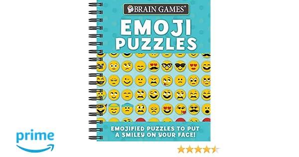 Amazon com: Brain Games - Emoji Puzzles (9781640302709