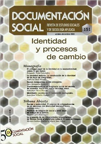 Identidad y procesos de cambio (Documentación Social): Amazon.es: VV.AA.: Libros