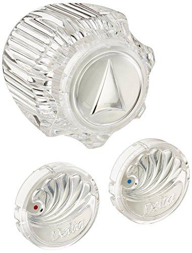 Delta Faucet H11 Single Clear Knob Handle Kit