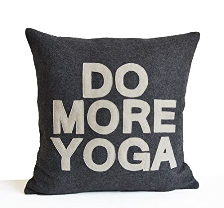 Do More Yoga Yoga Yogis Funny Yoga Gift AA12 Pillowcases ...