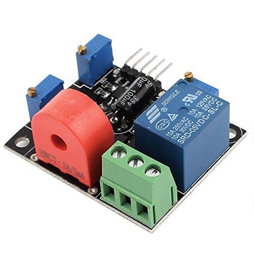 AC Detecção atual Módulo Sensor 0-5A Curto-Circuito Proteção DC 5V by DealMux