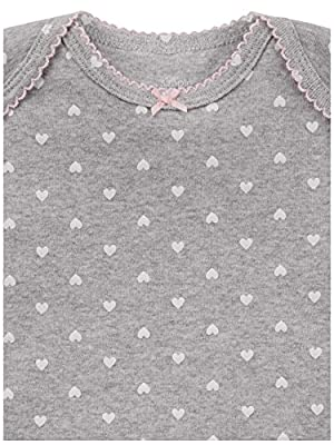 Simple Joys by Carter's Girls' 6-Pack Short-Sleeve Bodysuit, Pink Dino, Floral, Mint, White, Gray, 0-3 Months by Carter's Simple Joys - Private Label that we recomend personally.