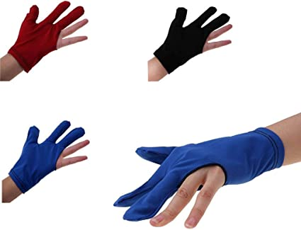 Red New Pool Glove Fits Left Hand L//XL