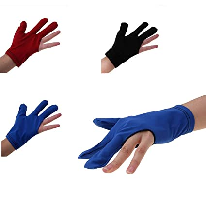 discount shop reasonable price entire collection LifeDawn 3 Fingers Billiards Glove Snooker Cue Shooters Gloves Billiard  Glove Pool Accessory Billiard Cue