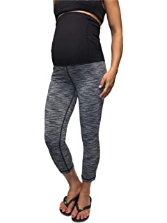 38bd12e01 Ingrid & Isabel Womens Maternity Activewear - Workout Capri with ...
