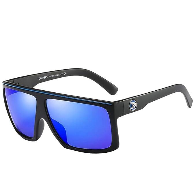 UKLoving Gafas de sol hombre polarizadas DUBERY UV400 - gafa de sol para hombre polarizadas aviador Clásico Protección - Conducir al aire libre ...