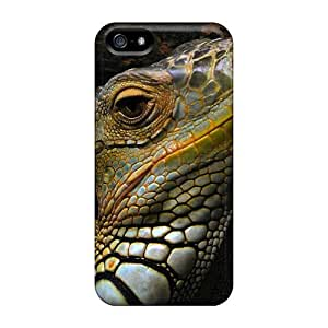Top Quality Protection Lizzard Case Cover For Iphone 5/5s
