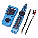 ELEGIANT RJ11 RJ45 Cable Tester Multifunction Wire Tracker Check Wire Measuring Instrument