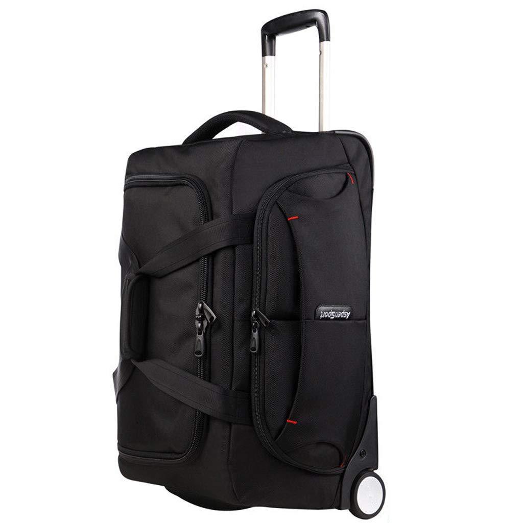 21インチ大容量旅行バッグビジネスレジャートラベルバッグメンズ女性トロリーバッグ短距離荷物バッグトラベルバッグ   B07KHBCBRB