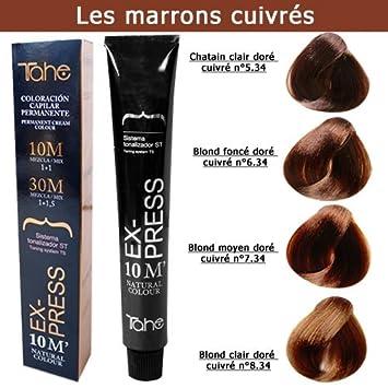 Coloration Cheveux Express 10 Minutes Tons Marrons Cuivrés Blond