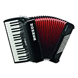 Hohner Bravo III Piano Accordion, 72 Bass, Black