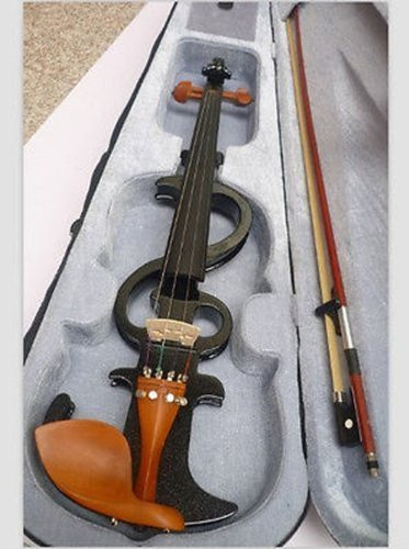 2015 Handmade Solid Wood 4/4 Violins, 4/4 Electronic Classic Violins, Hard Box, Rosin (Handmade Solid Wood)