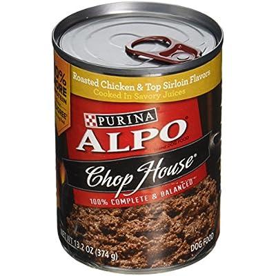 Alpo Chop House Roasted Chicken Flavor Dog Food 13.2 oz