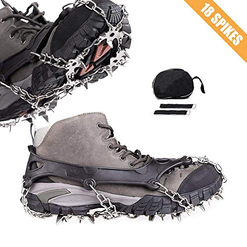 Cycorld Traction Ice Cleats Microspikes Crampons