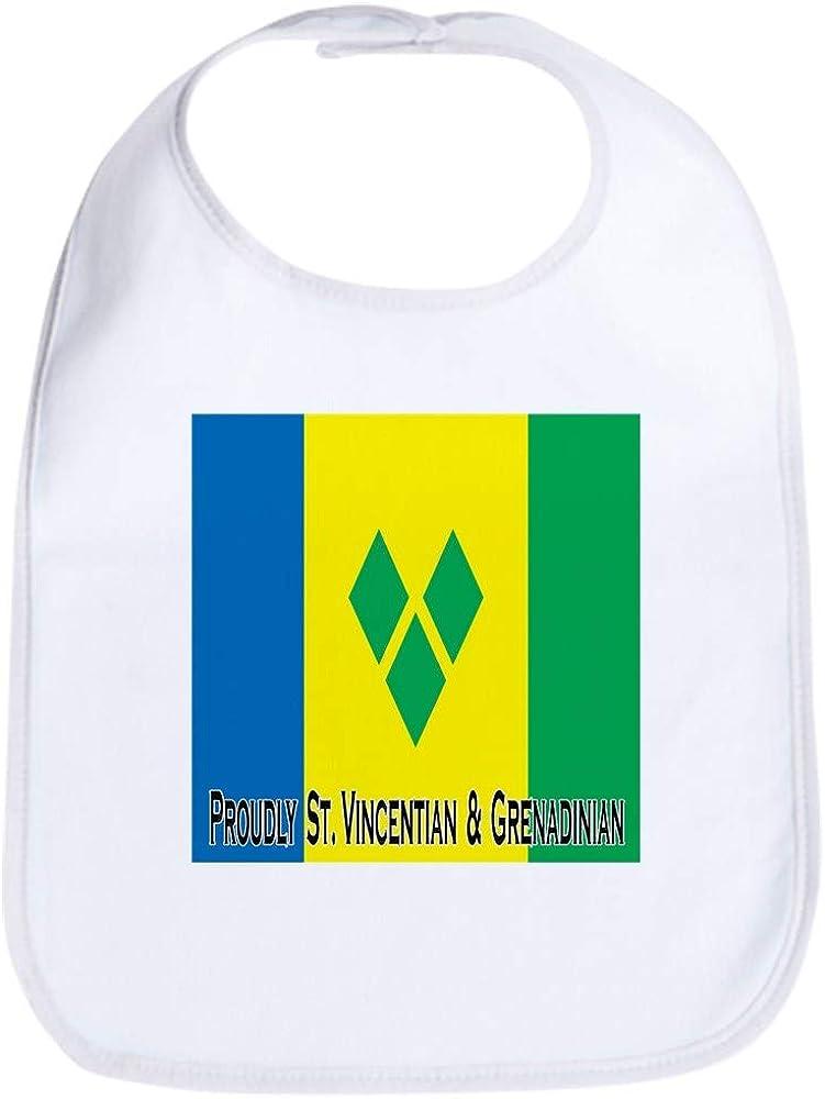CafePress St Vincent & Grenadines Bib Cloth Baby Bib