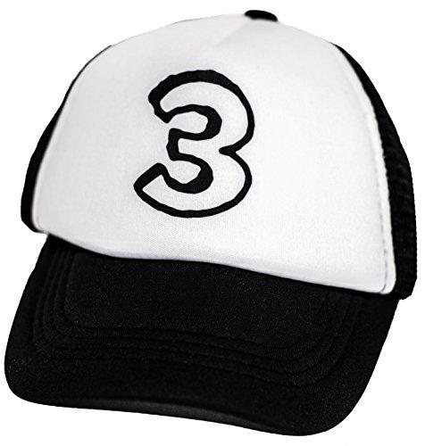 Kids Trucker B-Day Age Hat Baseball Cap Boys Girls 3rd Birthday 3 Toddler ()