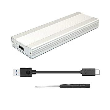 JMT Caja SSD NVME de 3TB Adaptador PCI-E M.2 a USB 3.1 Tipo-C