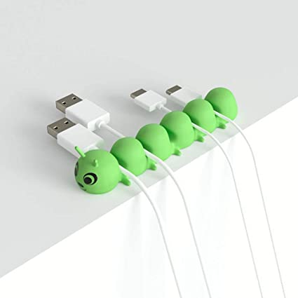 Self Adhesive Cord Holders 16 Pack Multipurpose Cable Clips Holders for Organizing Cable Cords Home and Office