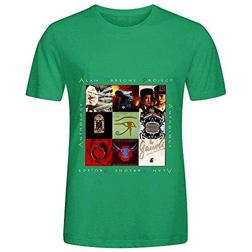 the-alan-parsons-project-anthology-80s-men-o-neck-slim-fit-shirts-green