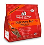 STELLA Raw Beef Morsels Dog Recipe Meal Rich in Nutrients Organic Fruits 4lbs