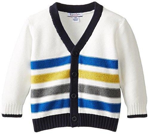 Kitestrings Baby Boys' Cotton Cardigan Sweater, Marshmallow, 18 Months (Hartstrings Cotton Cardigan)