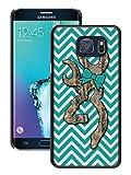 Samsung Galaxy S6 Edge Plus Case,Chevron Browning Black Samsung Galaxy S6 Edge+ Screen Phone Case Fashion and Luxury Design