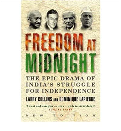 Freedom at Midnight by Dominique Lapierre (2001-05-04)