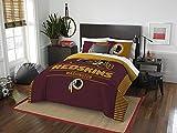 "NFL Washington Redskins ""Draft"" Full/Queen Bedding Comforter Set"