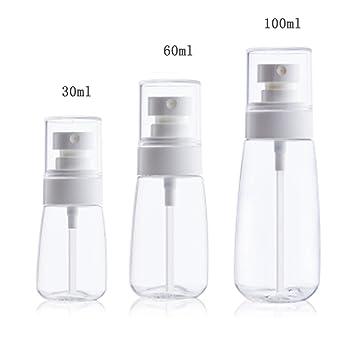b9c694dd826e Amazon.com : Layboo Airless Fine Mist Spray Bottles Refillable ...