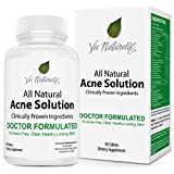 Get the healthy skin you've always wanted without drugs, surgery or dangerous side effects!★ With 29 acne fighting ingredients, Vie Naturelle Acne Supplement is an all-natural skin remedy that works for both men, women, and young adults. It stops ne...