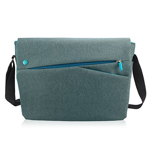 Letscom 13.3-Inch Laptop and Tablet Bag, Ultralight Shoulder Bag for Women & Men, Laptop Sleeve with Strap for MacBook Pro, MacBook Air, Notebook and Tablet