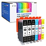6 Pcs 564xl Ink Cartridge Replacement for HP 564 Ink Cartirdges Work with hp Photosmart 7510 7520 7515 C6380 C310a C410, hp OfficeJet 4620 Printers