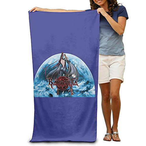 DEMOO Bayonetta LOGO Summer Holiday Beach Towel - Bayonetta Xbox 360 Costumes