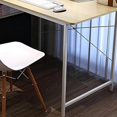 Soges 120x60cm Escritorio de Ordenador Mesa para Casa, Oficina ...