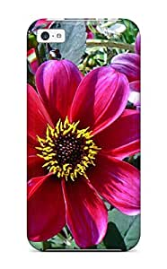 Durable Summer Flowers Back Case/cover For Iphone 5c