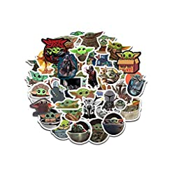 Baby Yoda Stickers (50 Pieces), Includes...